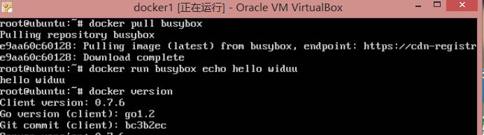 docker运行ubuntu